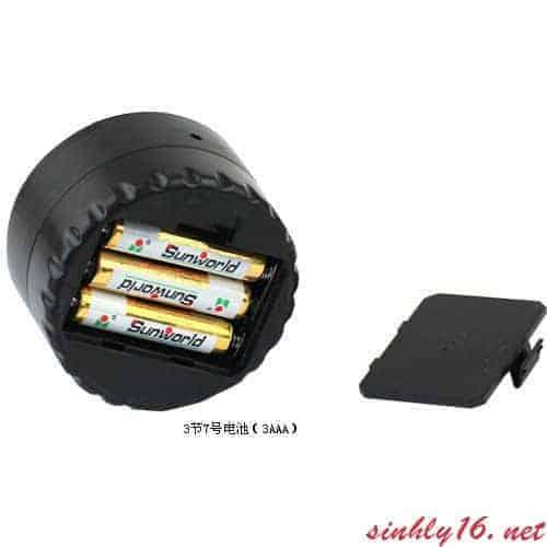 Đèn pin Lybai sử dụng 3 Pin AAA