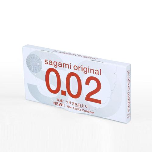 Bao cao su Sagami Original 0.02 quick hộp 10 chiếc