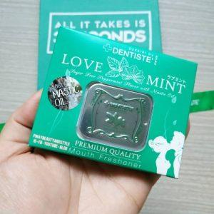 Kẹo ngậm phòng the Love Mint - | Kho Thế Giới™