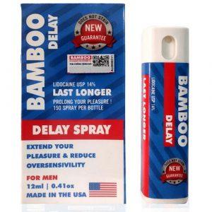 Xịt Bamboo Delay Spray chính hãng Mỹ chống xuất tinh sớm