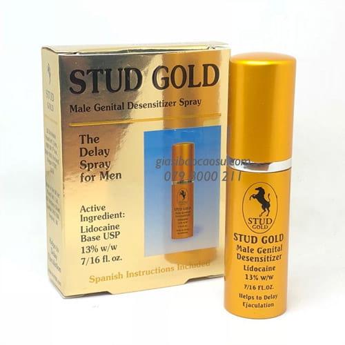 Thuốc xịt Stud 100 Gold cap chống xuất tinh sớm